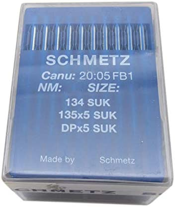 SCHMETZ Industrial Sewing Machine Needles DPx5 135//5 CANU 20:05 Size 80//12