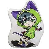 SIYUSIYU 35cm/48cm Anime SK8 The Infinity Hug Cushion Chinen Kyan Reki2 Animal Props Plush Doll for Adults and Children Best Gift (Miya2,13.77in)