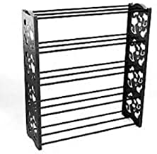 MASOOM Shoe Rack 5 Tier/Shelves Shoe Organizer Foldable (for 15 Pair)