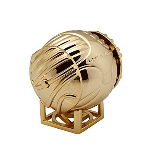 LMG Joyas Caja Caja de joyería Creativa Caja de Anillo de Snitch Golden, Titular de Anillo para propuesta Ceremonia de Boda Regalo de cumpleaños Decoración del hogar Regalo de niña