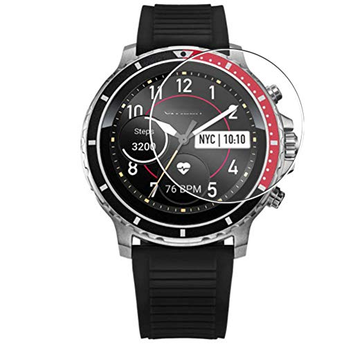 Vaxson 3 Unidades Protector de Pantalla, compatible con Citizen CZ smart watch [No Vidrio Templado] TPU Película Protectora Reloj Inteligente Film Guard Updated Version