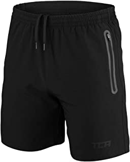 TCA Men's Elite Tech Running or Gym Shorts with Zipper Pockets