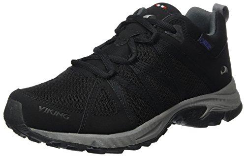viking 3-47235, Chaussures Multisport Outdoor Femme - Noir - Noir (Black/Pewter 278), 36 EU
