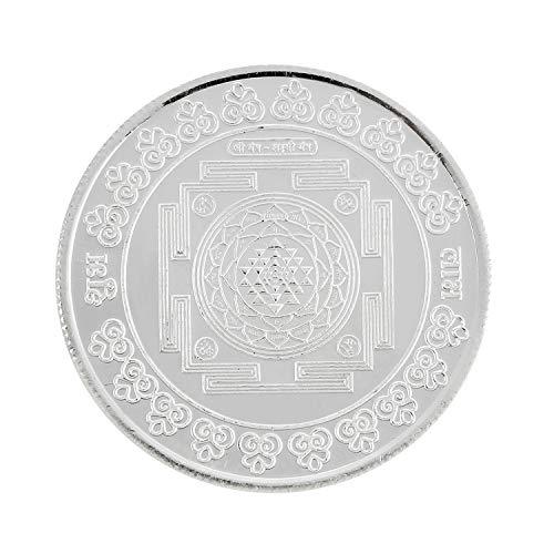 Ananth Jewels BIS Hallmarked 990 Purity Silver Coins 10 Gram