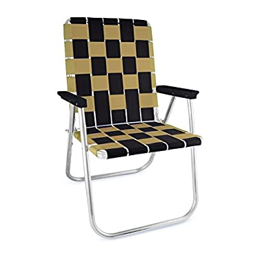 Lawn Chair USA TAILGATING CHAIRS (BLACK//GOLD)
