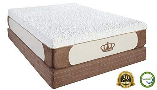 Dynasty Mattress 14-Inch, 5 Layer, Grand CoolBreeze, HD Gel Memory Foam Mattress (King)