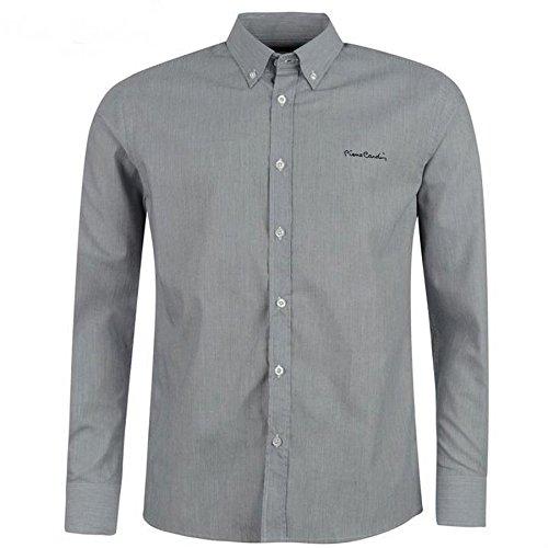 Chemises Pierre Cardin pour homme Bleue Grise Fines Rayures Neuve