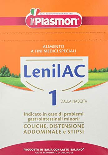 Plasmon Latte Lenilac 1, Confezione da 4 Pezzi