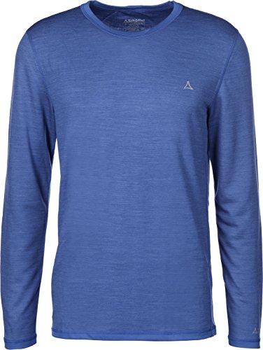 Schöffel Herren Merino Sport Longsleeve Shirt 1/1 Arm, col.8540, L