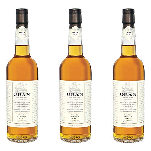 Oban 14 Years/Jahre, 3er, Single Malt, Whisky, Scotch, Alkohol, Alokoholgetränk, Flasche, 43%, 200 ml, 581375