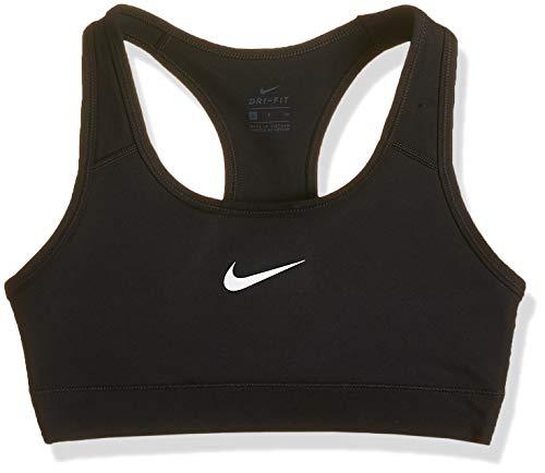 Nike Victory Compression, Reggiseno Di Sport da Donna, Nero (Black/White), Medium