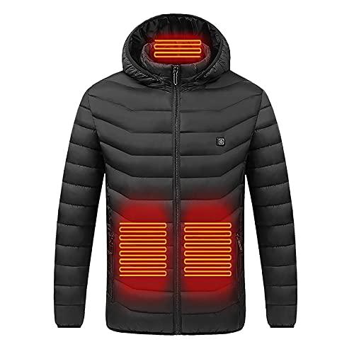 Heated Coat Hoodie Sweatshirt Warming Heated Jacke Warm Smart Electric...