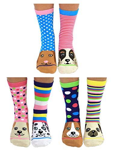 United Oddsocks Damen Socken Mehrfarbig mehrfarbig, 37-42 EU