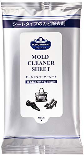 [エム・モゥブレィ プレステージ] 皮革製品用カビ落とし/予防 使い捨てシート モールドクリーナーシート 10枚入り メンズ マルチカラー Free