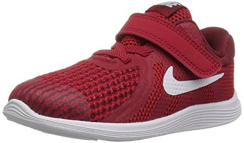 Nike Unisex Baby Revolution 4 (TDV) Hausschuhe, Rot (Gym Red/White-Team R 601), 21 EU
