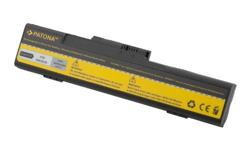 PATONA Laptop Akku für IBM ThinkPad X30   X31   2672   2673 - [ Li-ion; 4400mAh; schwarz ]