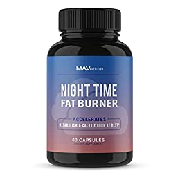 SUPPORTS FULL IMMUNE FUNCTION 24/7. Our NIGHT TIME FAT BURNER is carefully designed to keep your body working throughout the night, while assisting in a full-night's rest.* With specifically designed ingredients, this supplement will ensure you amazi...