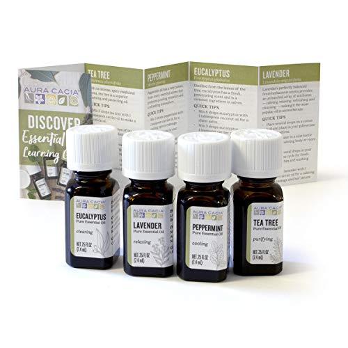 Aura Cacia - Discover Essential Oils Kit | Pure Essential Oils |...