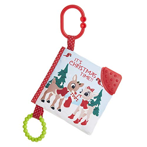 KIDS PREFERRED Rudolph The Red-Nosed Reindeer On The Go Soft Teether Book