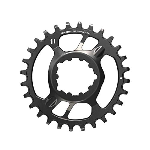 Sram Kettenblatt MTB 28T, Direct Mount, Alu, schwarz 11-Fach, X-Sync, 3mm Offset, Boost, 11.6218.018.016