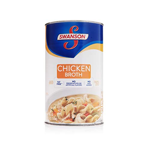 Swanson's Classics Collection Chicken Broth, 99% Fat Free, Recipe Starter, 49.5 Ounce (Pack of 12)