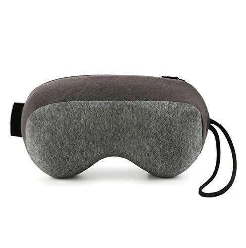 SMSOM Pan de viaje Pan almohada de cuello de viaje, espuma de memoria pura con forma de espuma almohada para viajes de avión, soporte de cuello ergonómico con cuello de cabeza para almohadas para dorm
