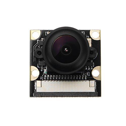 ILS - 1080P 5MP 160 Fisch-Augen-Überwachungskamera-Modul für Raspberry Pi mit IR-Nachtsicht