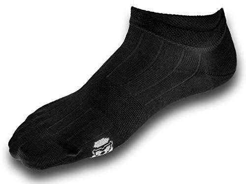 Hans Socks Sneaker Socken Damen Und Herren BIO Baumwolle 5 Paar Schwarz Und Weiß (Schwarz, 35-38)
