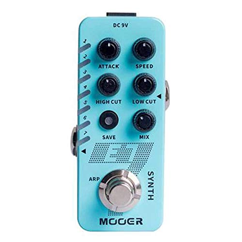 MOOER E7 SYNTH - Sintetizador para guitarristas