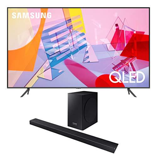 Best Bargain Samsung QN85Q60TA 85 QLED Ultra High Definition Smart UHD 4K TV with a Samsung HW-Q6CR...