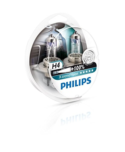 Philips 582015 H4 Set 12V 60/55W X-tremeVision, 2-erBox mit 2 Leuchtmittel