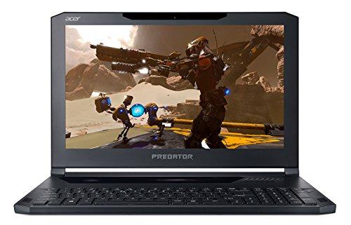 """Acer Predator PT715-51-77AF Ordinateur portable pour Gaming, écran 15,6"""", i7-7700HQ, RAM de 16Go, SSD 512Go, GeForce Gtx 1060, noir obsidien (clavier italien)"""