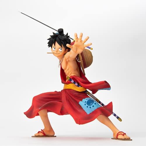 Bandai Spirits. One Piece Monkey D. Luffy BWFC Super Master Stars Piece Rufy Rubber Figure Colosseum The Brush Subito Disponible.