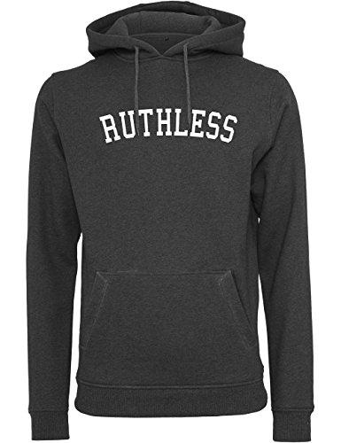 Mister Tee Herren Kapuzenpullover Ruthless Hoody - Sweater mit Kängurutasche