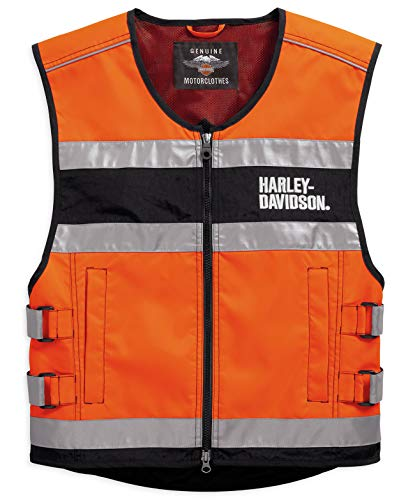 HARLEY-DAVIDSON Warnweste Orange Reflective, XL