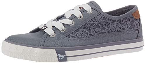 MUSTANG Mädchen 5024-307 Sneaker, Blau (Sky 875), 34 EU