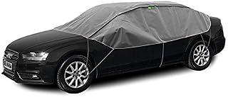 Abdeckplane Halbgarage Sonneschutz, Schneeschutz, UV Schutz, Winter & Sommer Größe Lsedan kompatibel mit Hyundai i40
