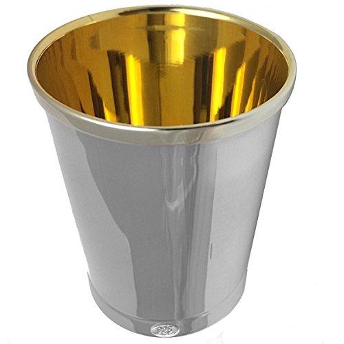Becher Venedig H 5,5 cm innenvergoldet Silber 925 Sterling. 50 Gramm