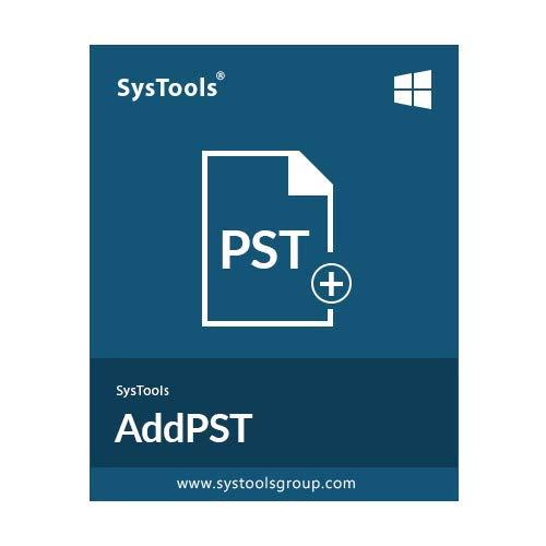 SysTools Añadir PST (Entrega de correo electrónico: sin CD)