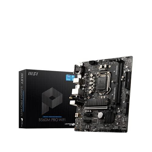 MSI B560M PRO WIFI マザーボード Micro-ATX [Intel B560チップセット搭載] MB5257