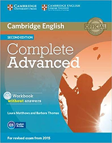 Complete Advanced - Workbook Without Answers With Audio CD - 02 Edition