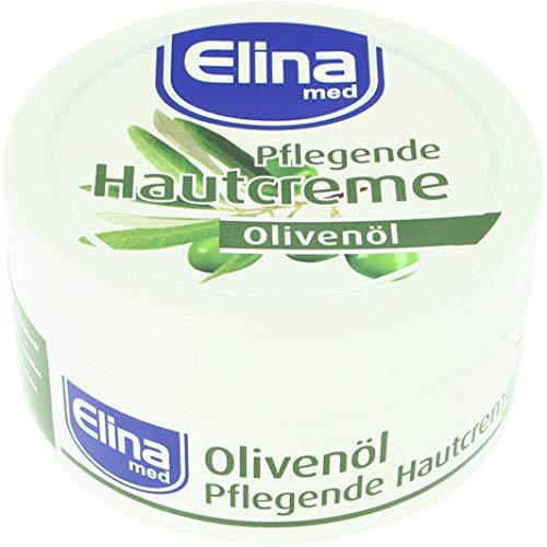 Elina med Pflegende Hautcreme Olivenöl, 150ml; Dose,