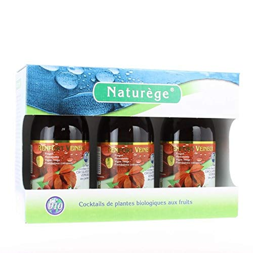Natuurlijke biologische mineralen ter versterking van Venen, 3 x 250 ml