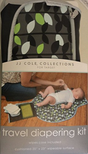 JJ Cole couches lavables Fold & Go Kit – Feuille