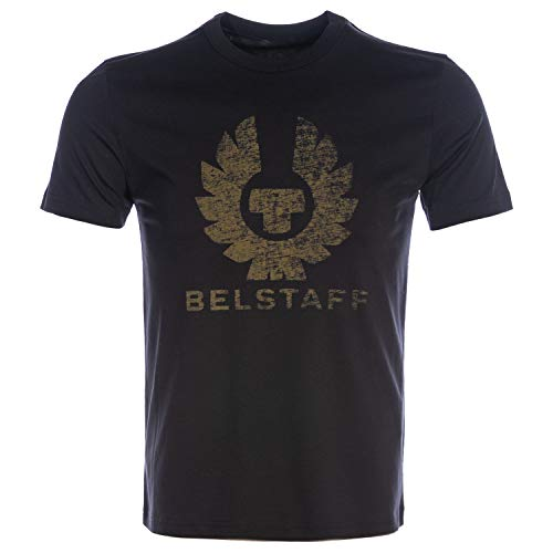 Belstaff Herren T-Shirt mit Rundhalsausschnitt Coteland 2.0 M Black