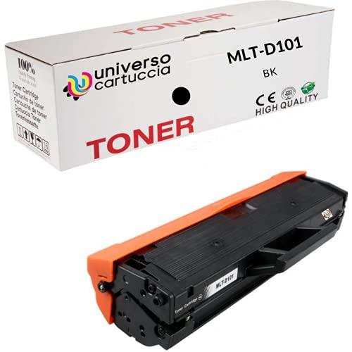 UniversoCartuccia® Toner Compatibile MLT-D101S per Samsung ML-2160,ML-2161,ML-2162,ML-2165,ML-2165W,ML-2168,SCX-3400,SCX-3400F,SCX-3401,SCX-3405,SCX-3405F,SCX-3405FW,SCX-3405W,SF760P,SF765P