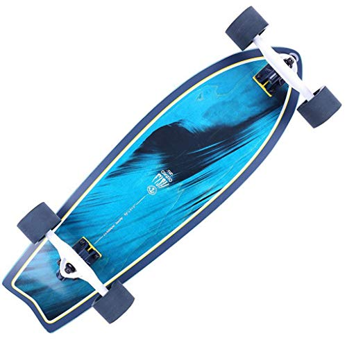 Best Deals! Caster Scooters Scooter Four-Wheel Professional Board Dance Board Adult City Longboard G...