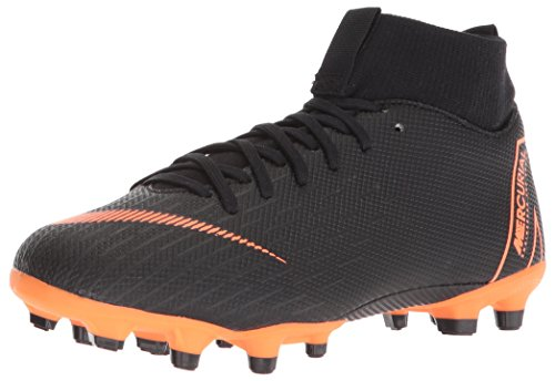 Nike Junior Mercurial Superfly 6 Academy FG Soccer Cleats [Black]
