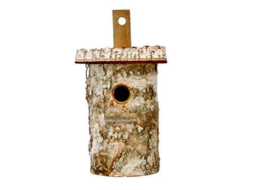 Damian-Wiklina Vogelhaus, Nistkasten, Birkennesthöhle 25 x 14 cm (32mm)