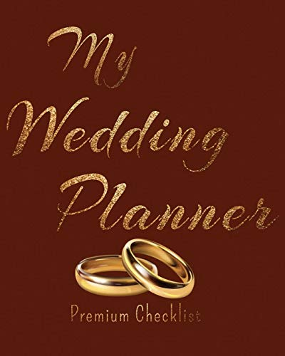 My Wedding Planner a Portable Guide to Organizing Your Dream Wedding 2021 / 2020 Wedding Planner golden wedding rings Aureate Gold design Auric Style ... Budget Planner Bride Wedding Engagement Gift